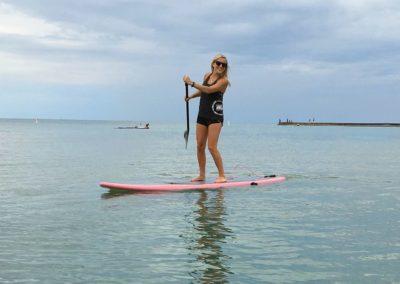 Paddleboarding in Port Elgin, ON
