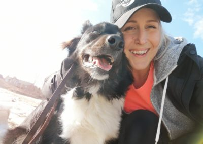 My dog Marley and I